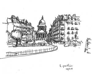 Pantheon_dessin_Masato_Fujisaki