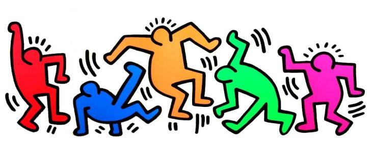 Keith-Haring-Dancing