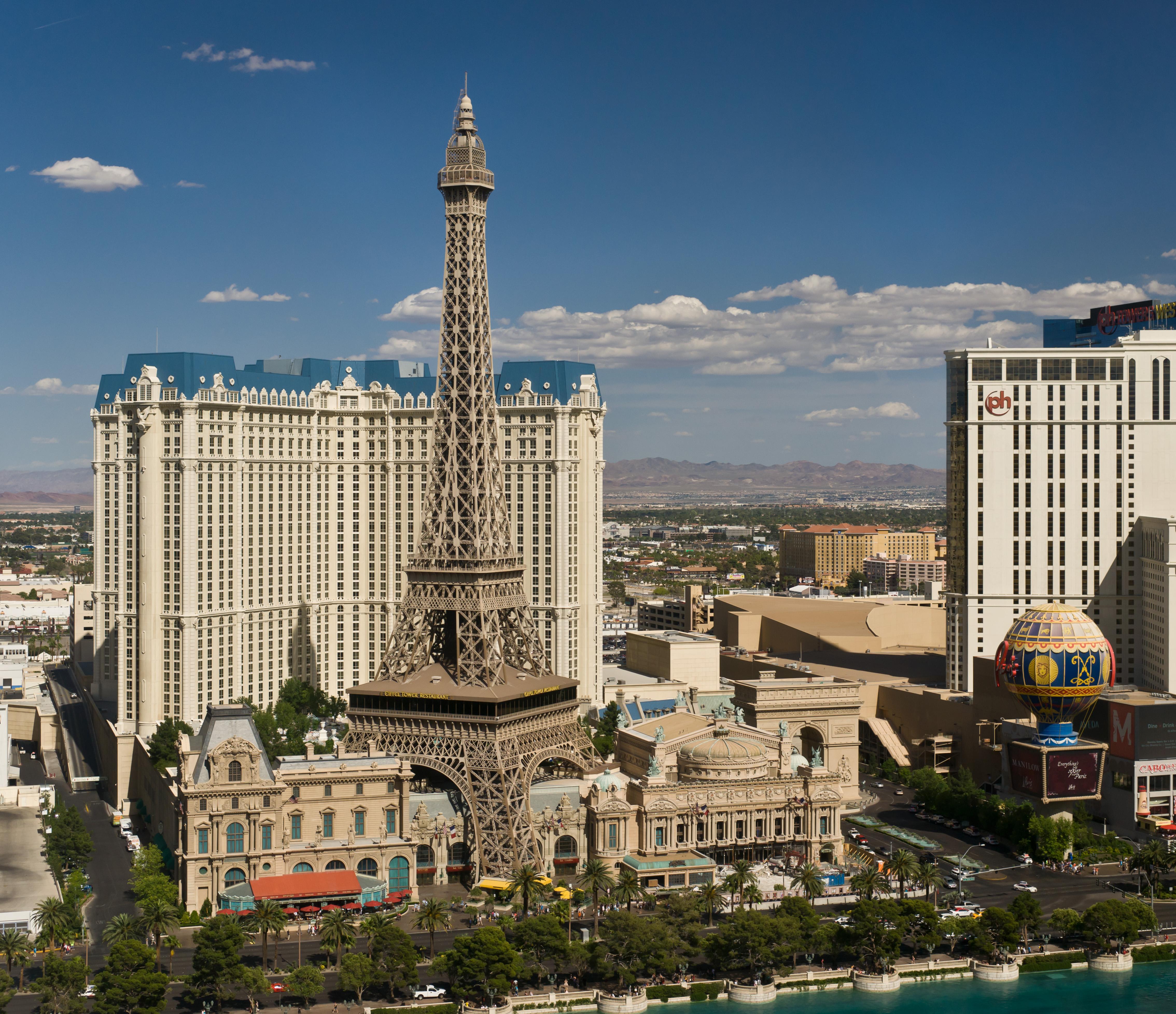 """The hotel """"Paris Las Vegas""""."""