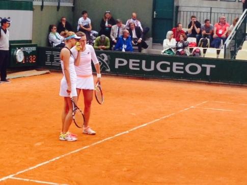 Irina Camelia Begu e Karin Knapp