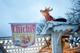 Marché de Noël aux Champs Elysées Paris 8e