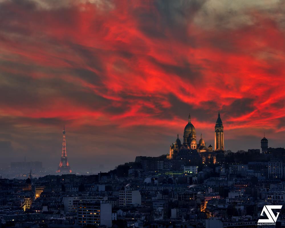 Parigi Di Notte Una Milanese A Parigi