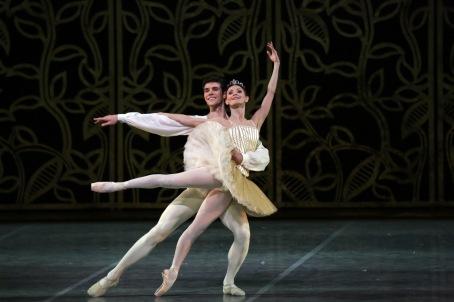 Maria Eichwald e Roberto Bolle ph Brescia e Amisano Teatro alla Scala