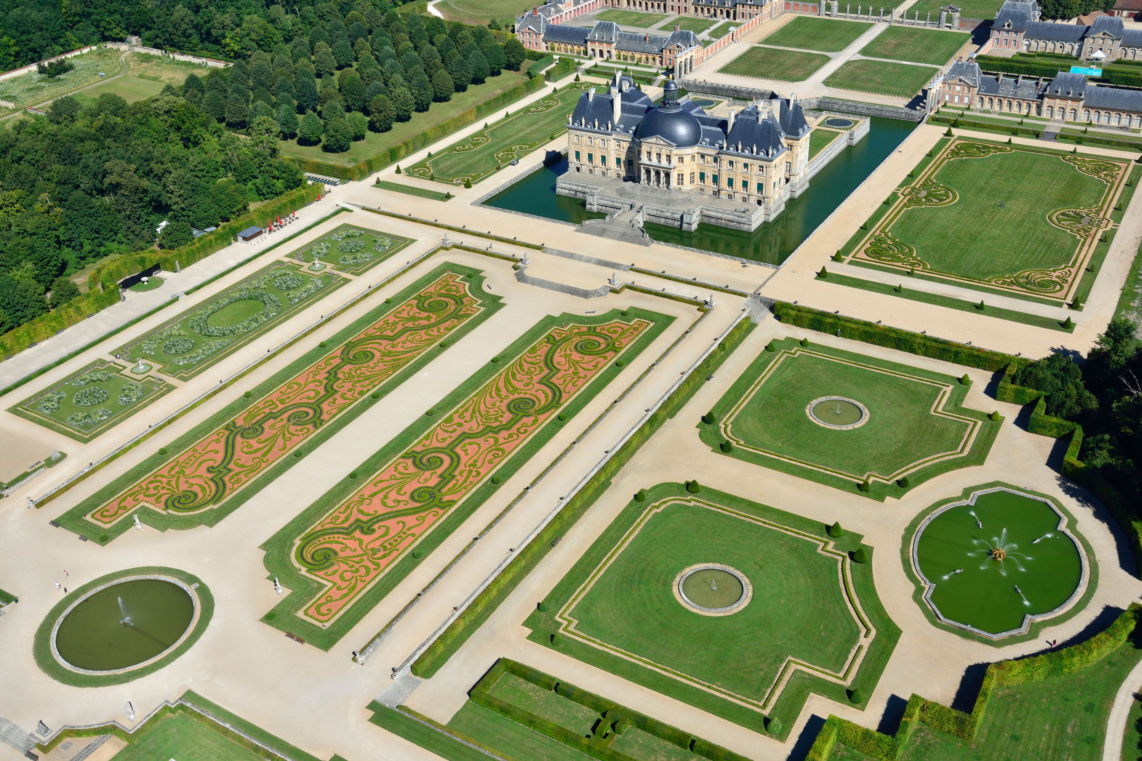 Jardin Classique À La Française château vaux le vicomte | una milanese a parigi