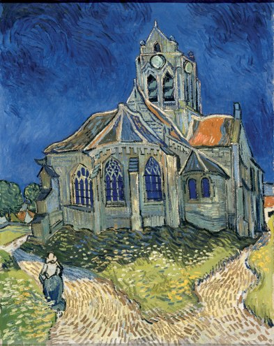 Auvers-VanGogh-TableauEgliseVanGogh