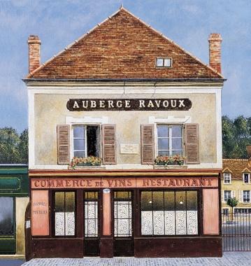 AubergeRavoux-100-Faáade Ravoux dessin ht def@InstitutVanGogh